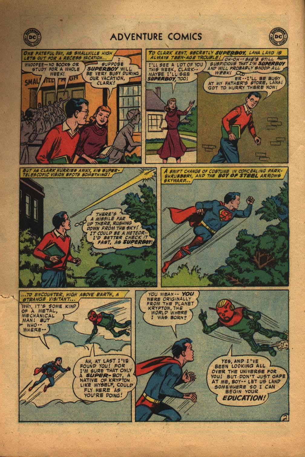 Read online Adventure Comics (1938) comic -  Issue #240 - 4