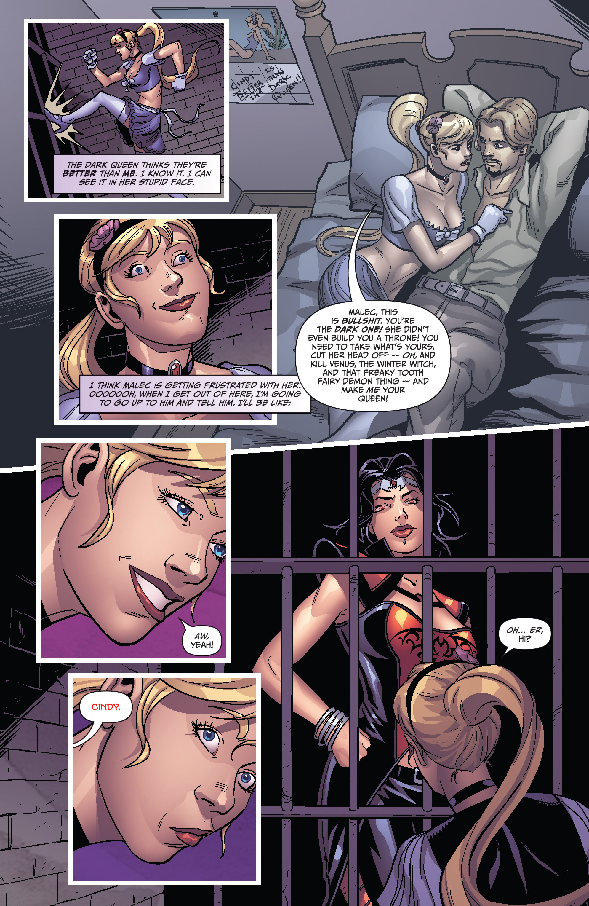 Read online Grimm Fairy Tales presents Cinderella: Age of Darkness comic -  Issue #1 - 10