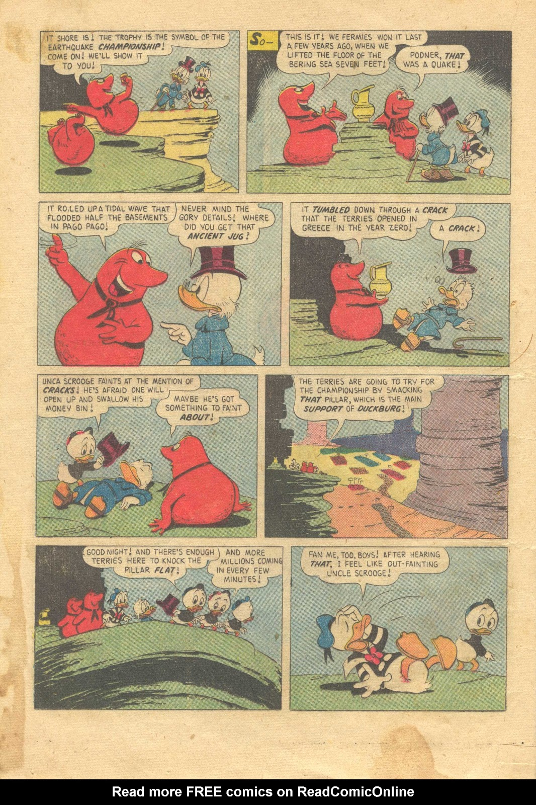 Uncle Scrooge (1953) Issue #13 #13 - English 16