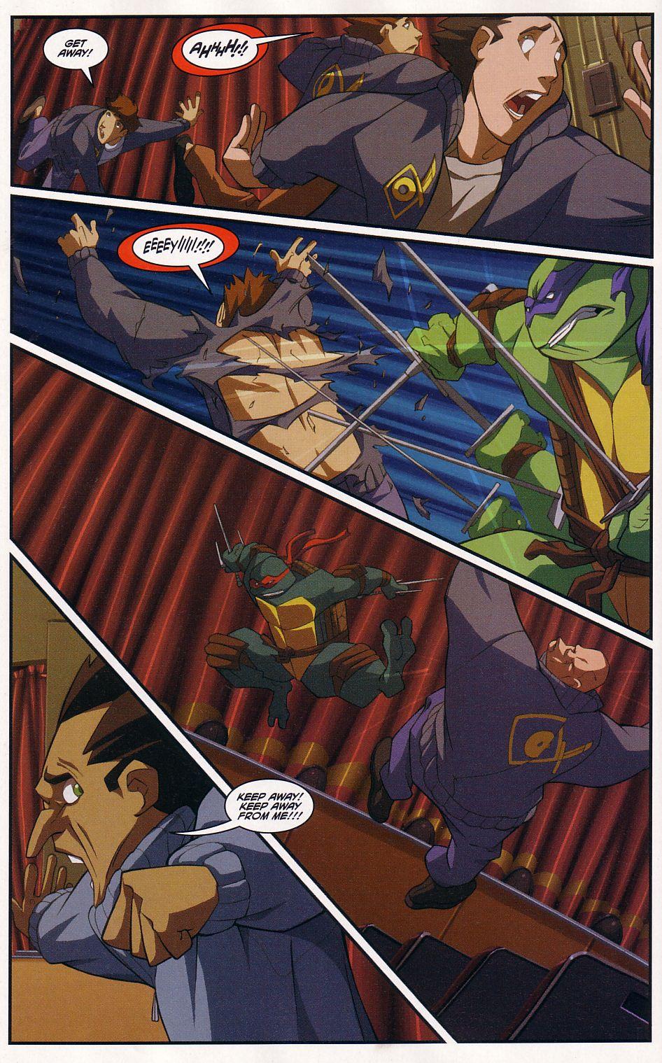 Teenage Mutant Ninja Turtles (2003) chap 7 pic 22