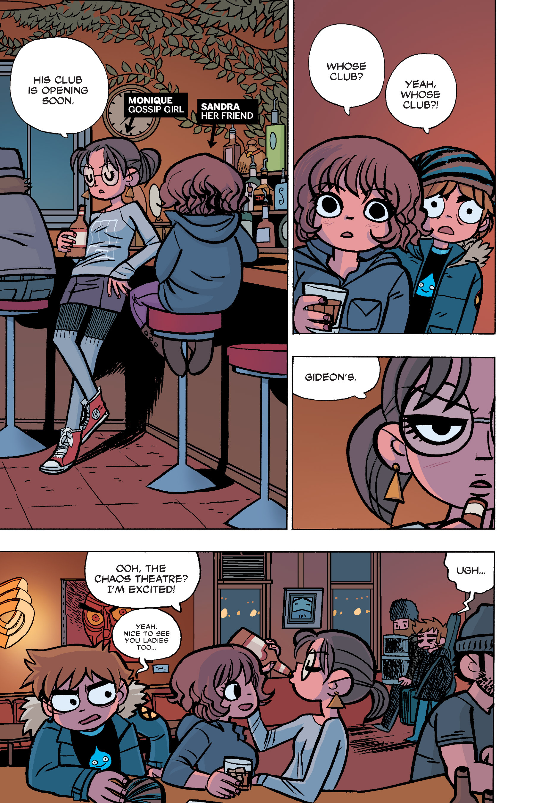 Read online Scott Pilgrim comic -  Issue #6 - 28
