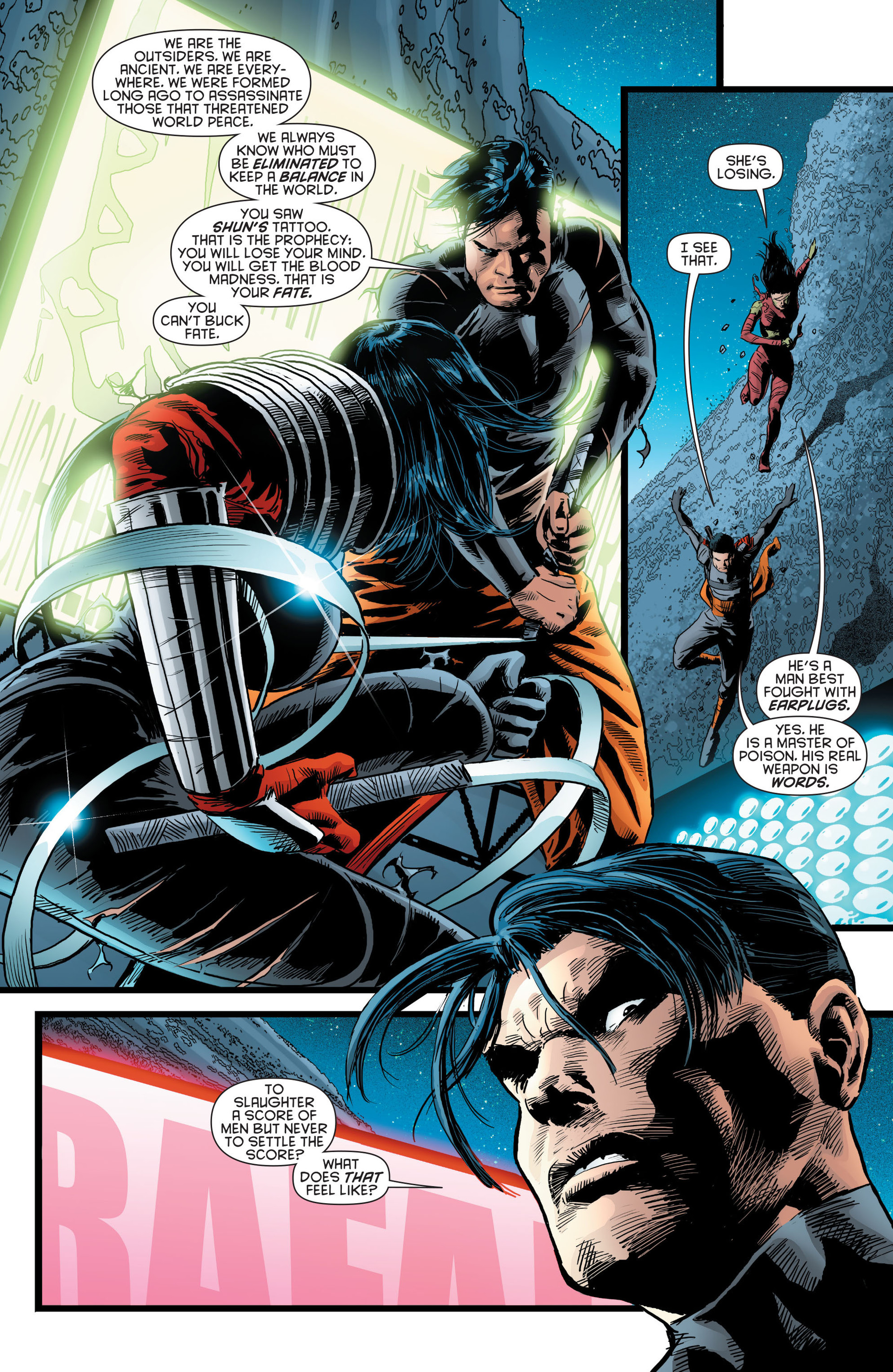 Read online Katana comic -  Issue #8 - 8