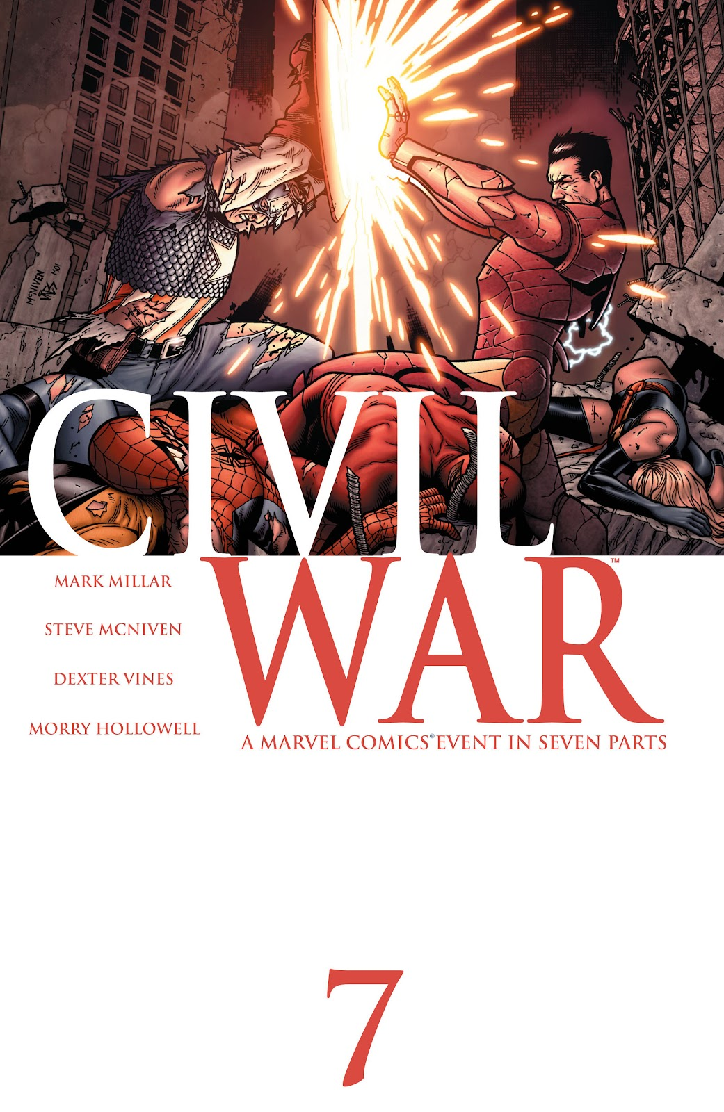 Civil War (2006) issue 7 - Page 1