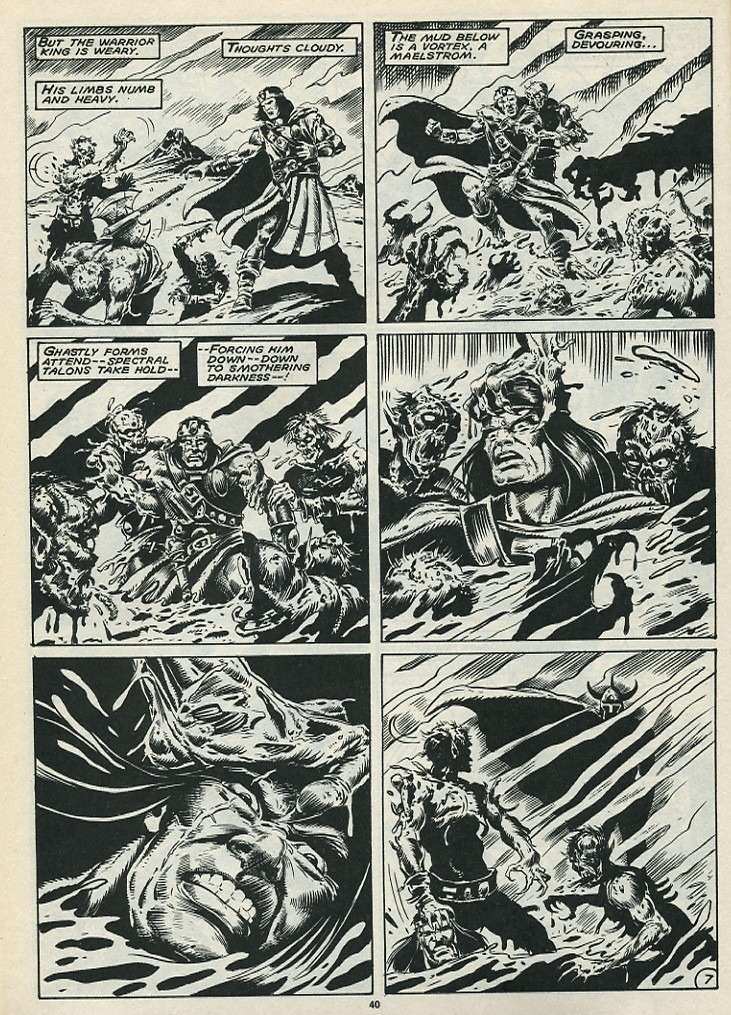 The Savage Sword Of Conan Issue #172 #173 - English 42