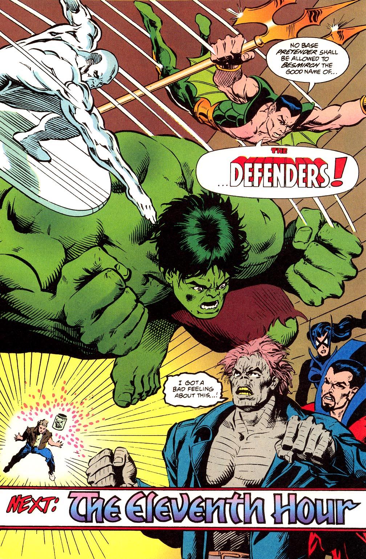 Read online Secret Defenders comic -  Issue #23 - 23