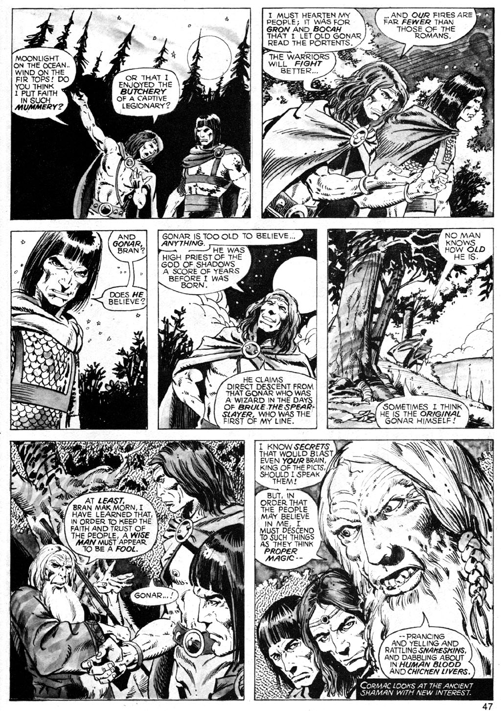 The Savage Sword Of Conan Issue #42 #43 - English 47
