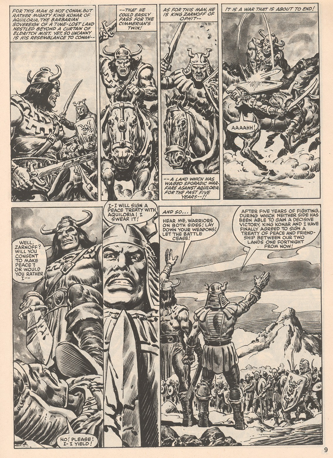 The Savage Sword Of Conan Issue #104 #105 - English 9