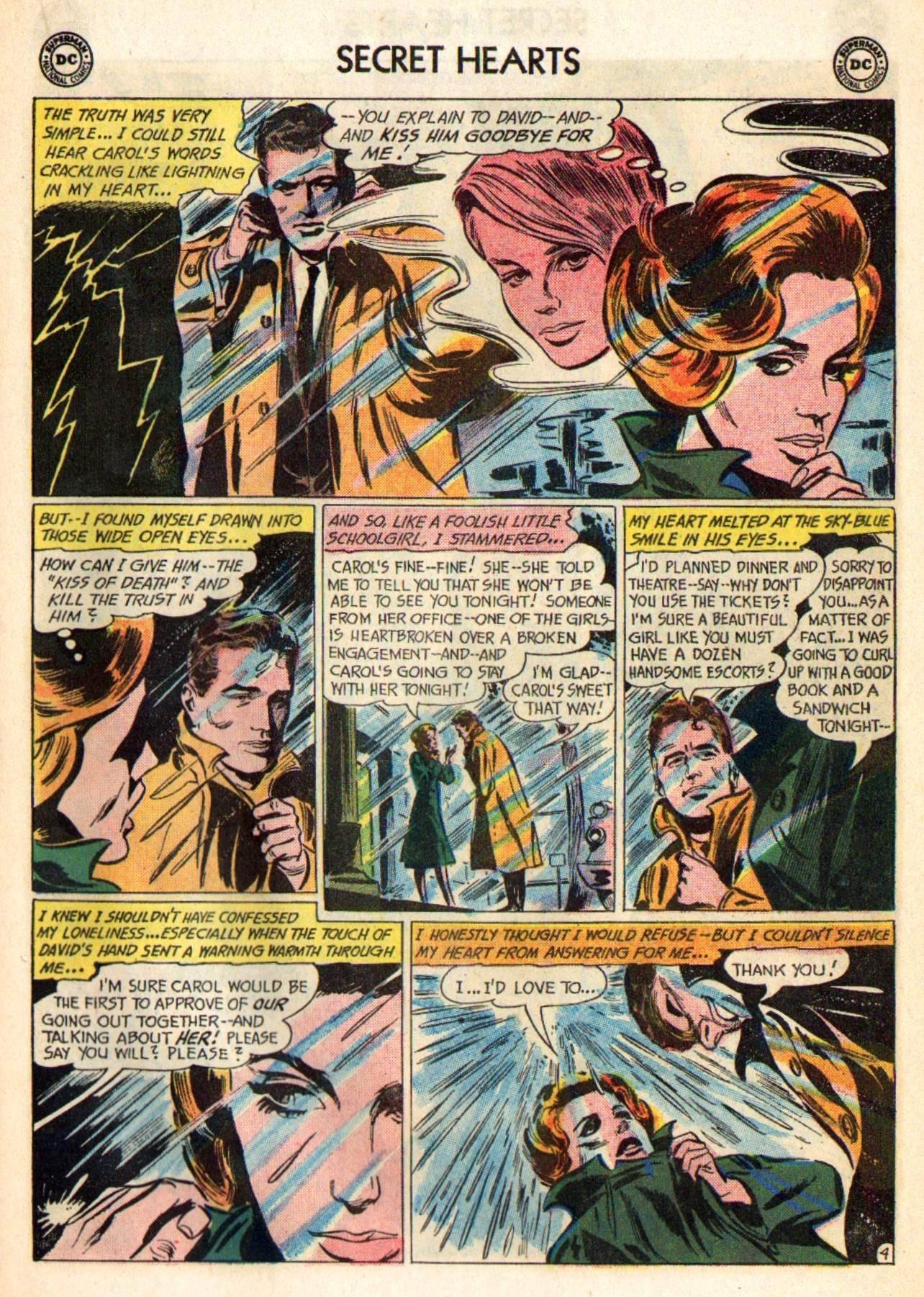 Read online Secret Hearts comic -  Issue #98 - 23