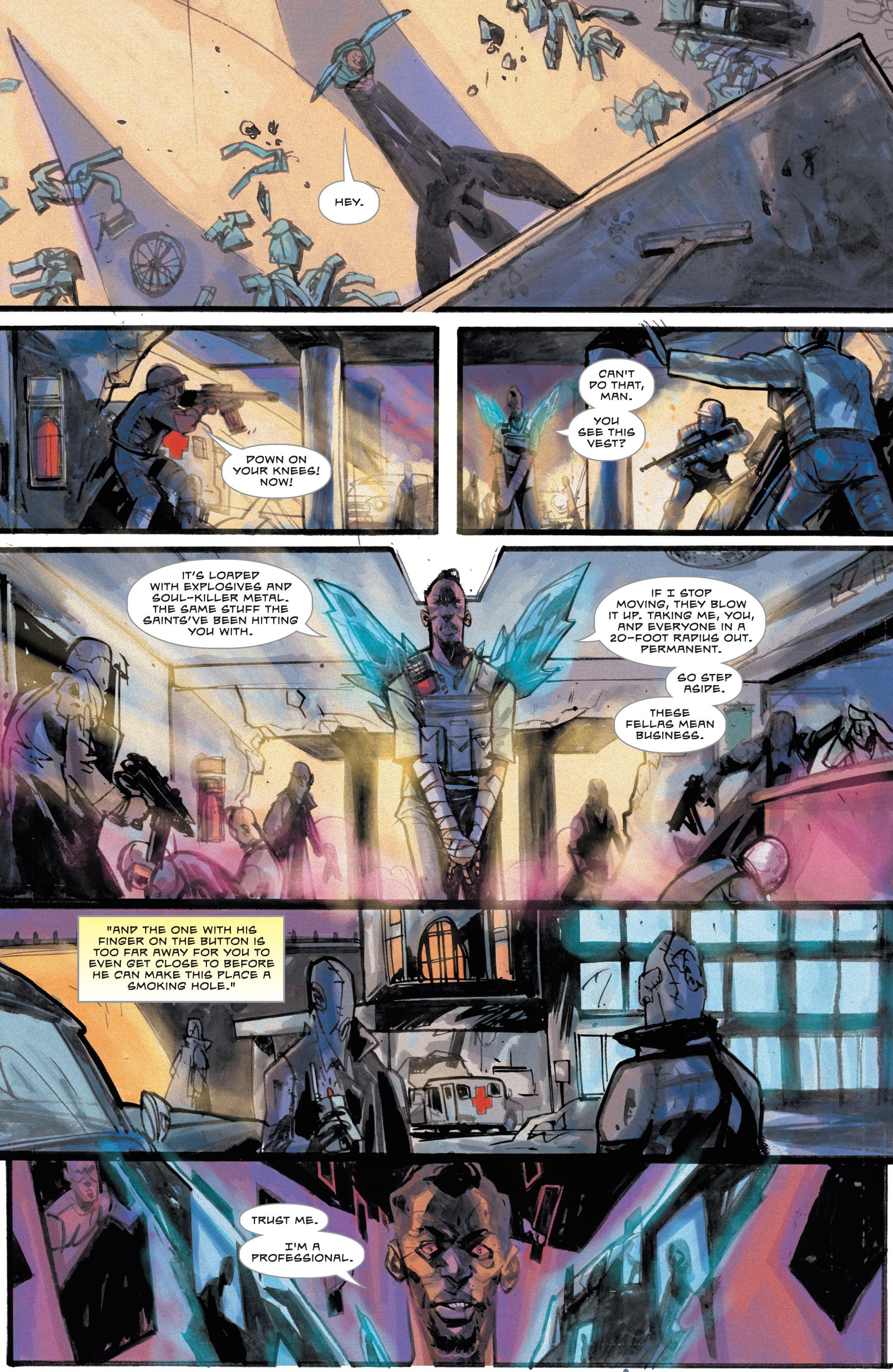Read online Dead Letters comic -  Issue #8 - 4