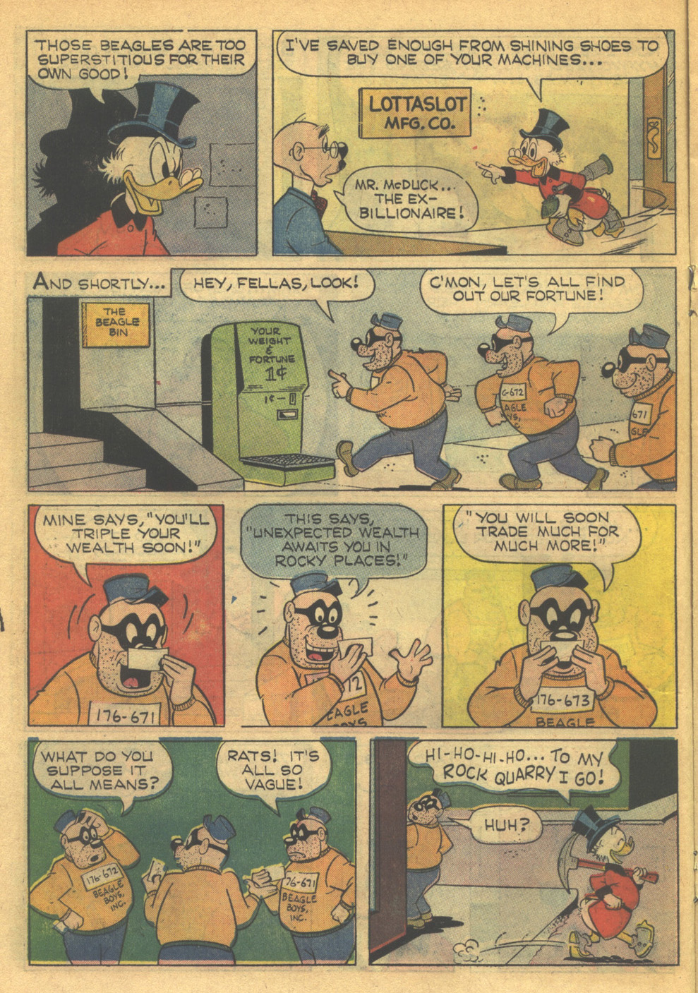 Uncle Scrooge (1953) Issue #79 #79 - English 14