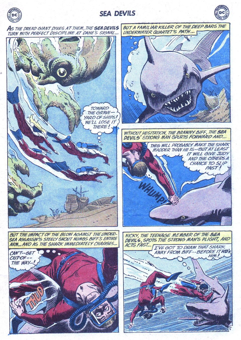 Read online Sea Devils comic -  Issue #1 - 8