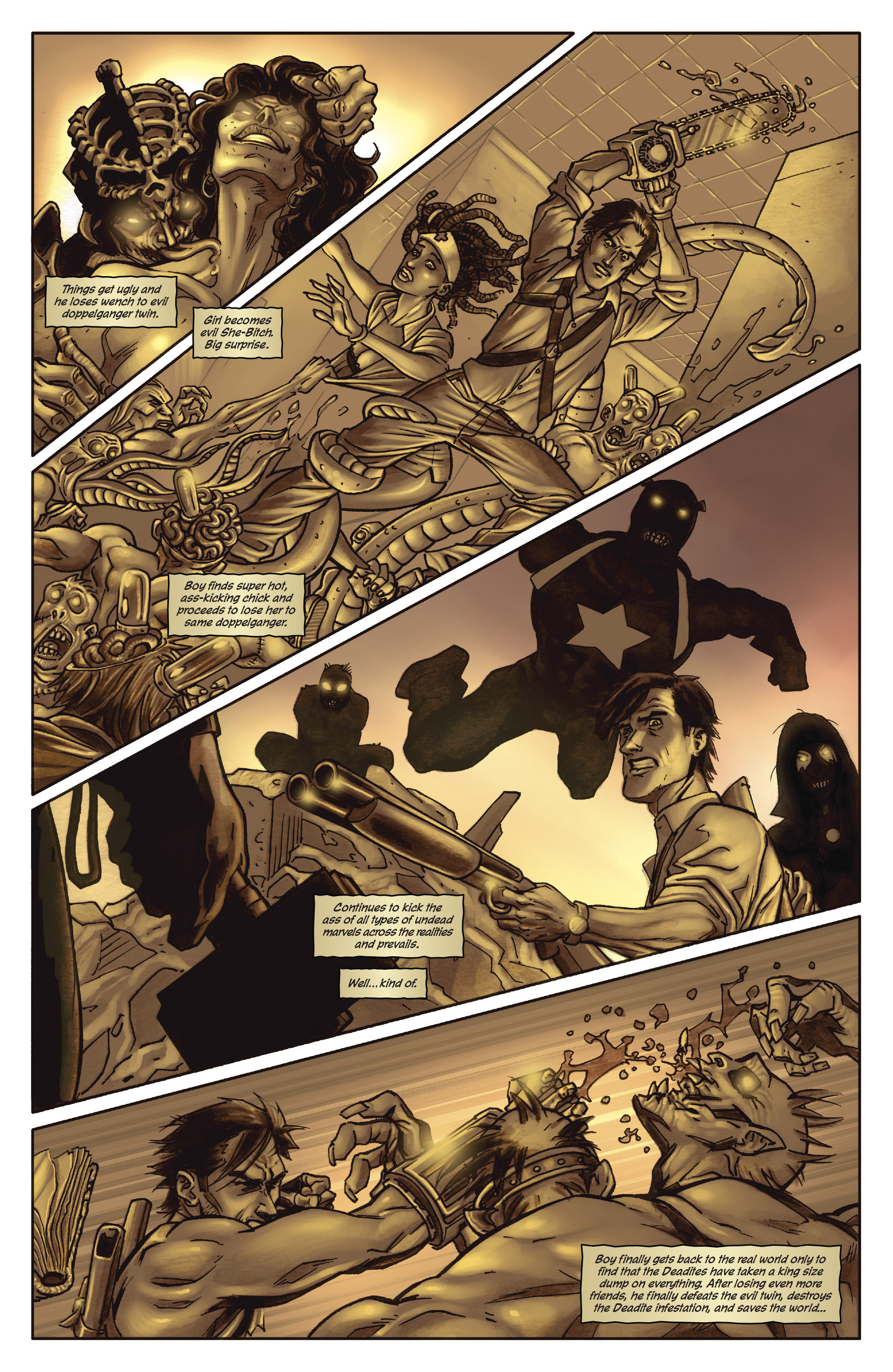 Army of Darkness: The Long Road Home TPB Page 8