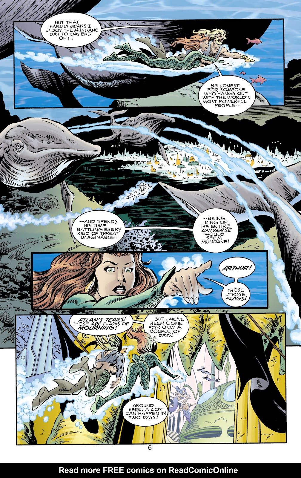 Aquaman (1994) Issue #74 #80 - English 6