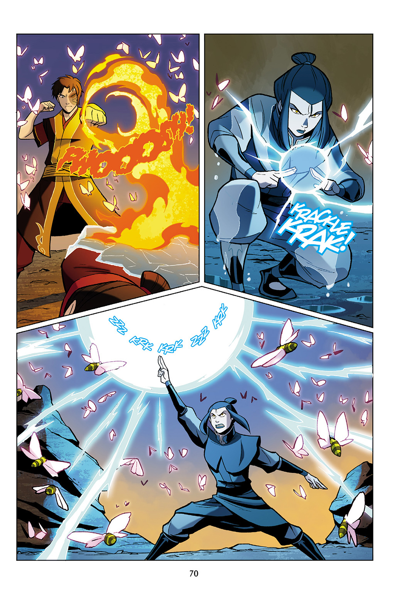 Read online Nickelodeon Avatar: The Last Airbender - The Search comic -  Issue # Part 1 - 71