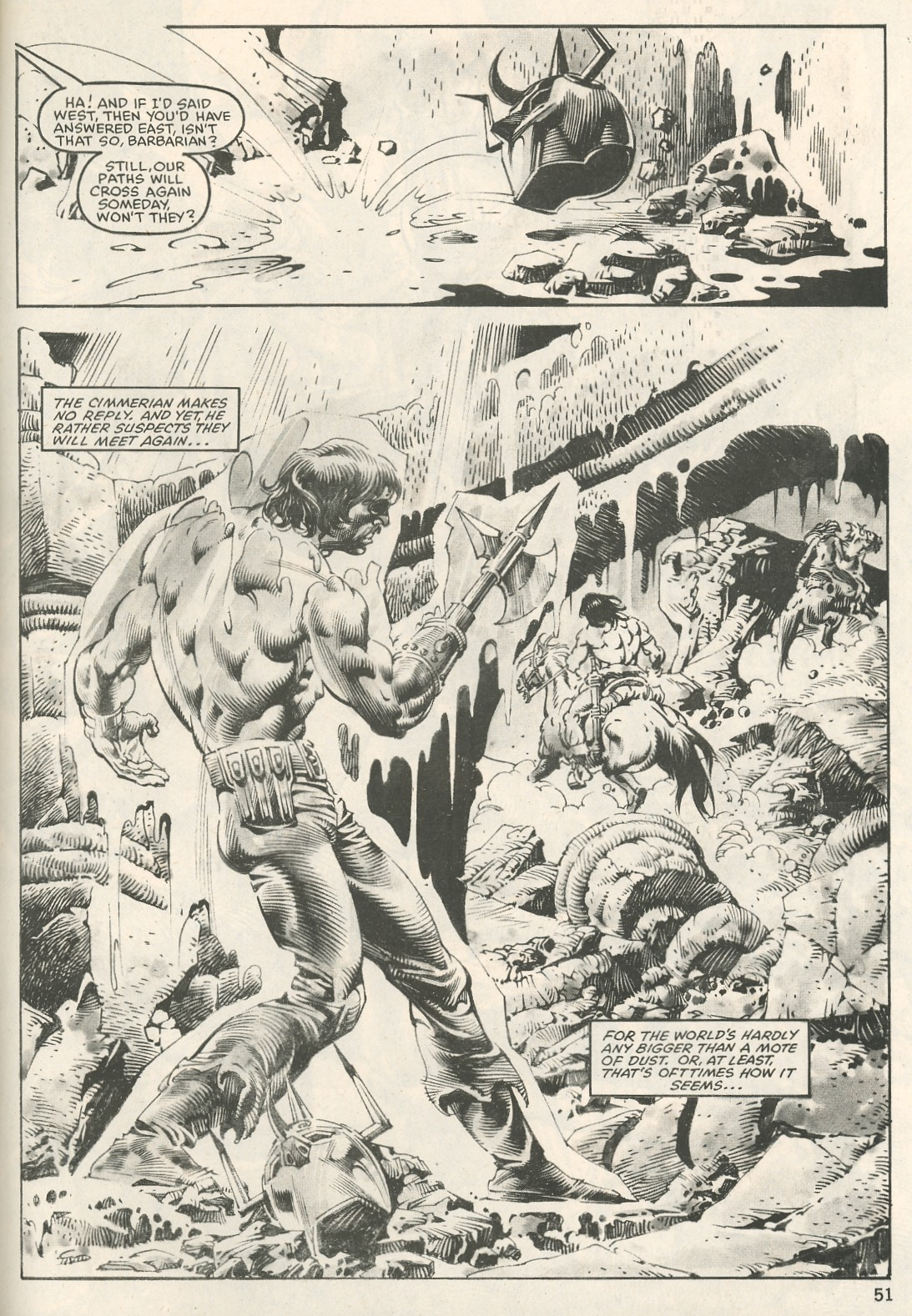 The Savage Sword Of Conan Issue #107 #108 - English 51