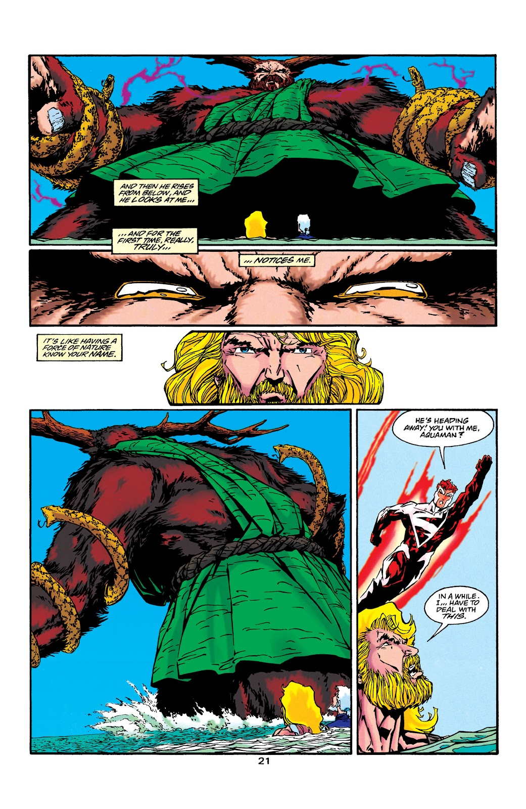 Aquaman (1994) Issue #43 #49 - English 20