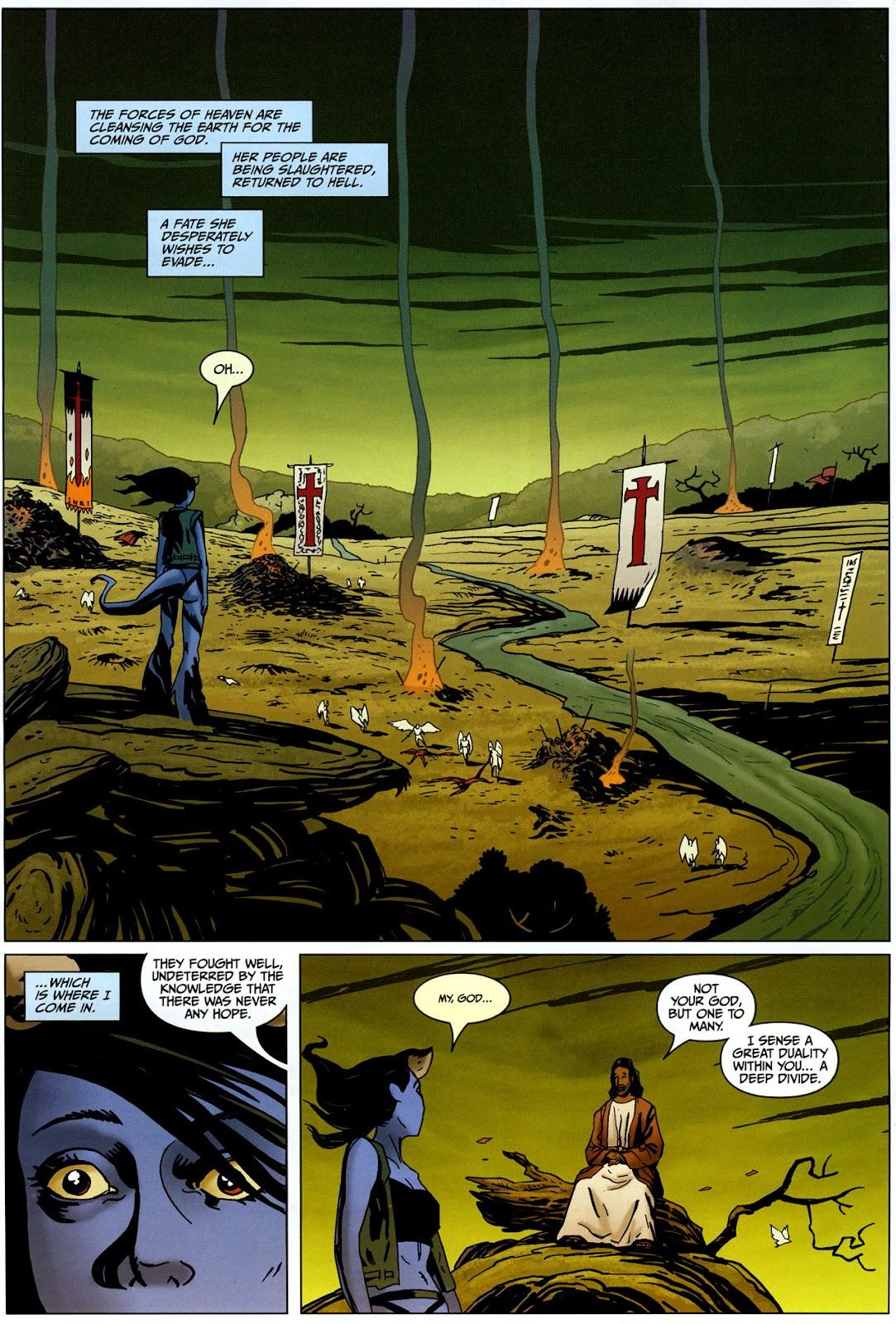 Strange Girl Issue #17 #18 - English 4
