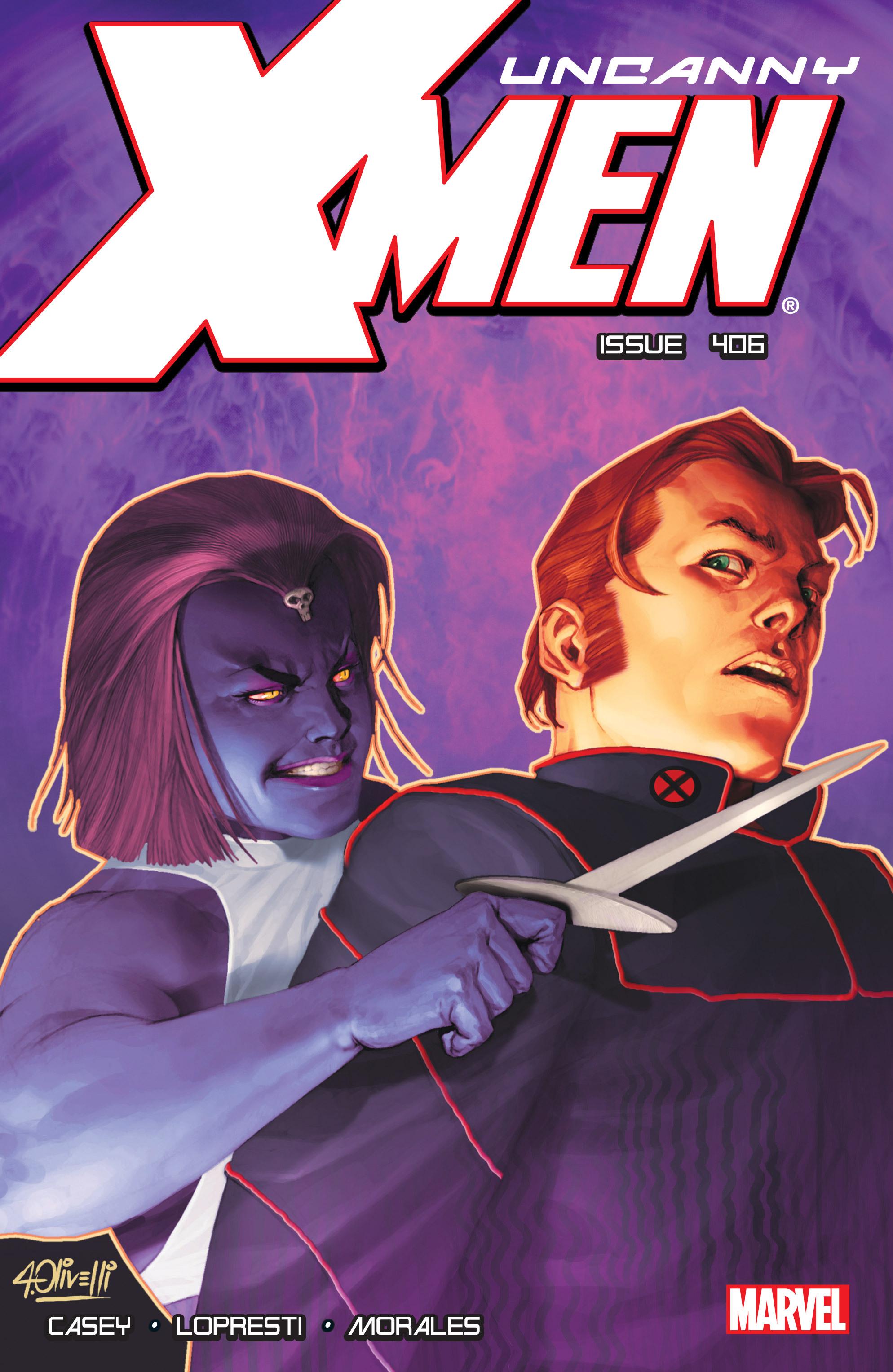 Uncanny X-Men (1963) 406 Page 1