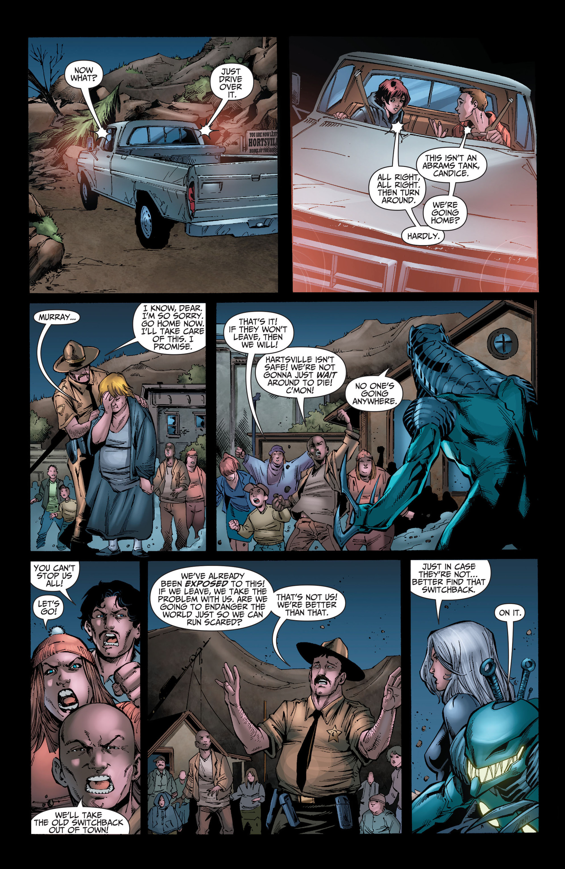 Read online The Ravagers comic -  Issue #8 - 14