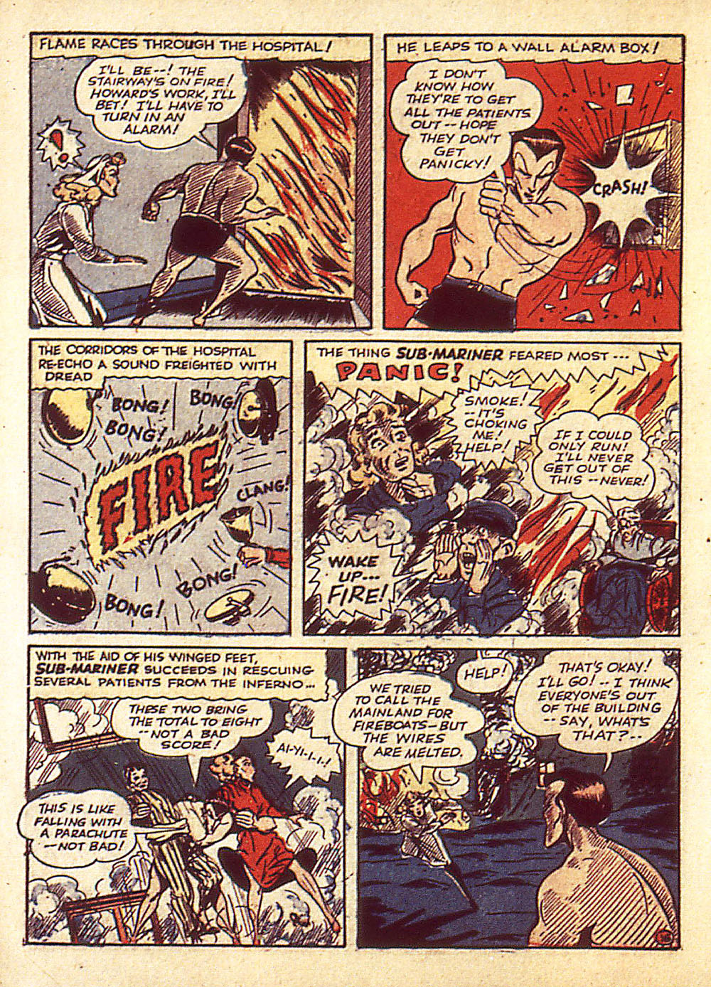 Sub-Mariner Comics Issue #4 #4 - English 19