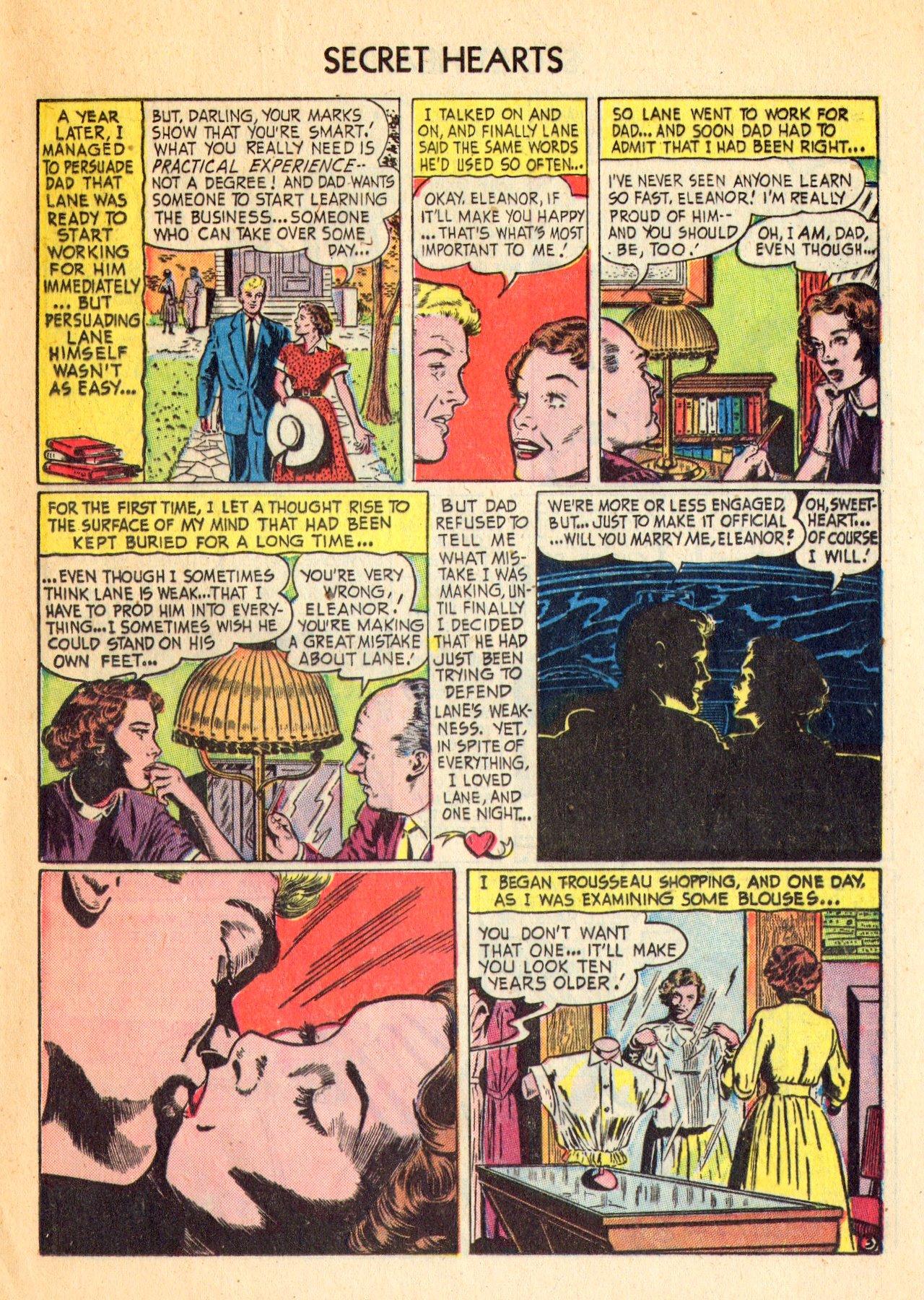 Read online Secret Hearts comic -  Issue #18 - 13