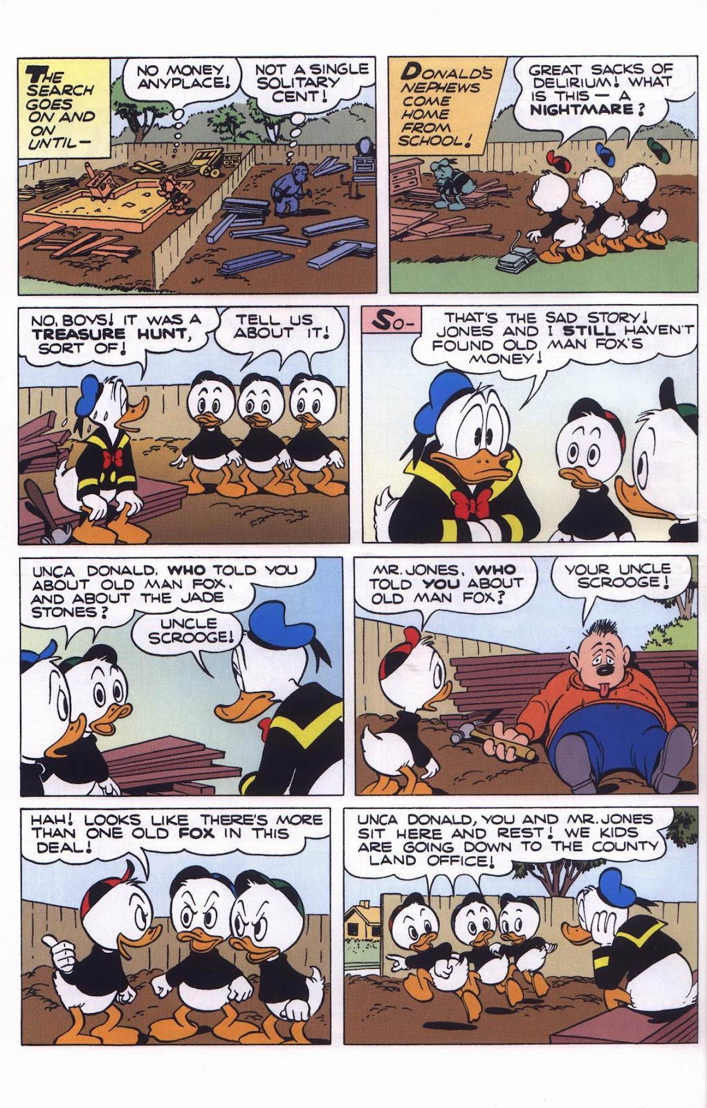 Uncle Scrooge (1953) Issue #311 #311 - English 62