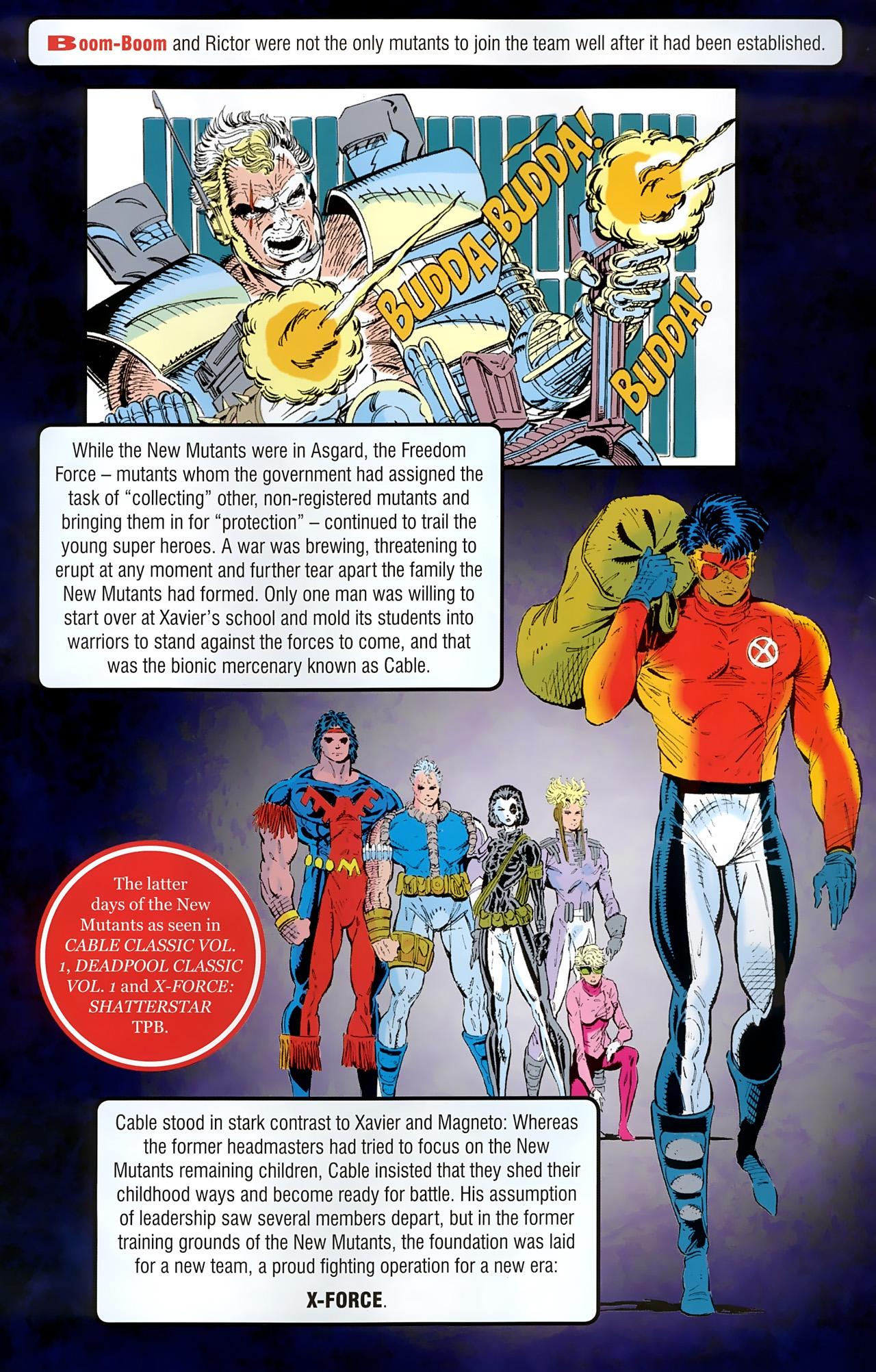 Read online New Mutants Saga comic -  Issue # Full - 31