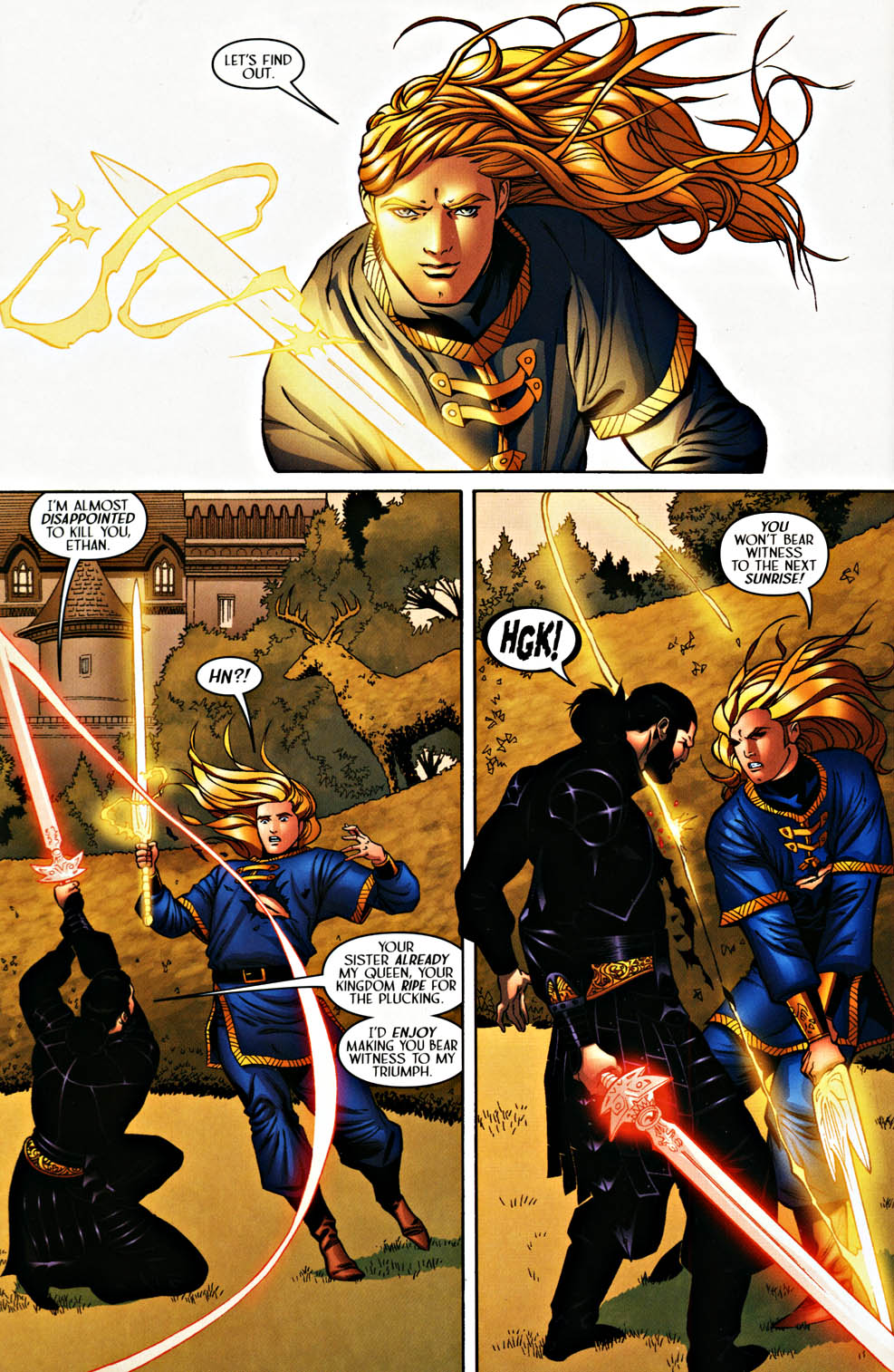 Read online Scion comic -  Issue #37 - 20
