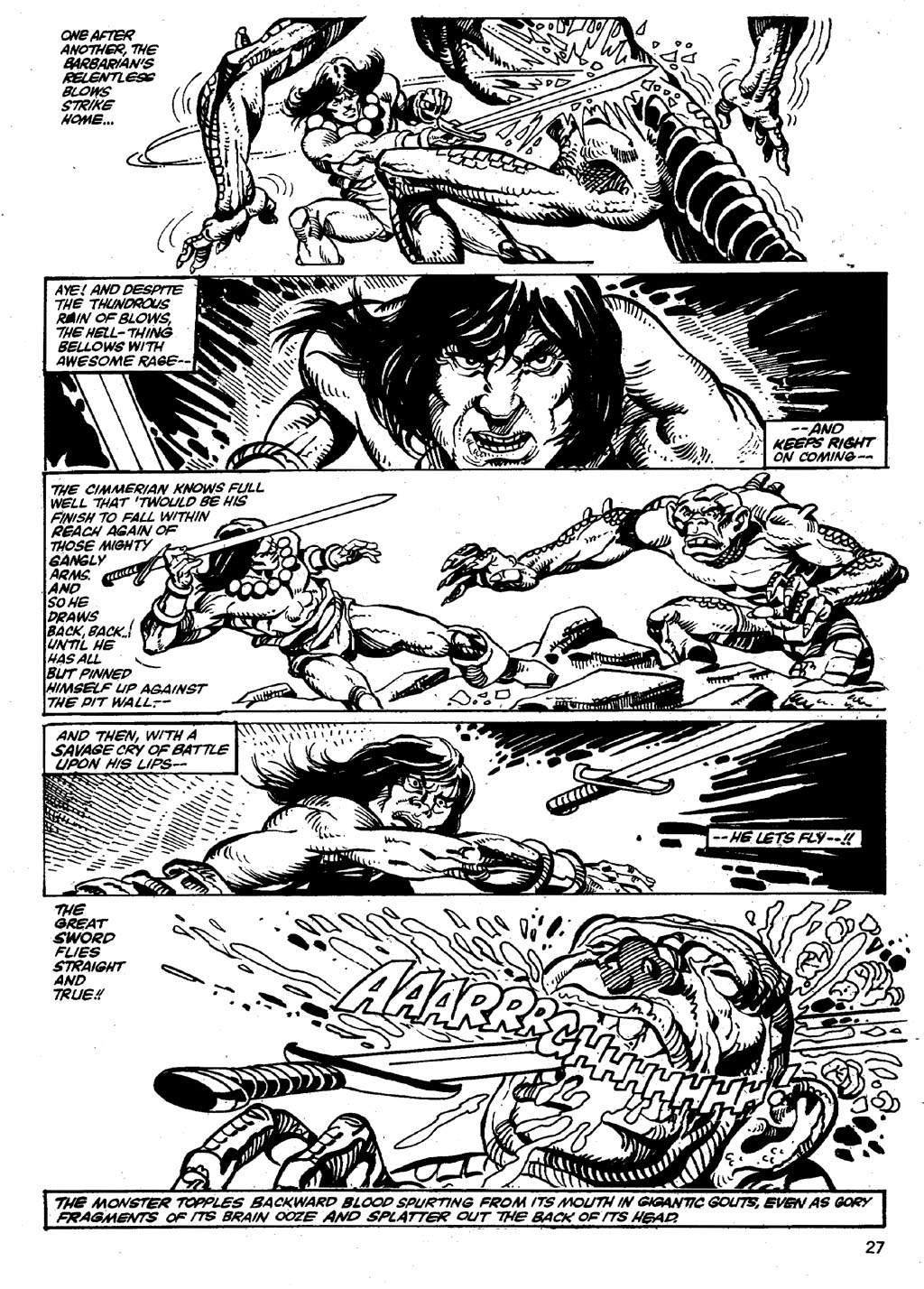 The Savage Sword Of Conan Issue #86 #87 - English 27