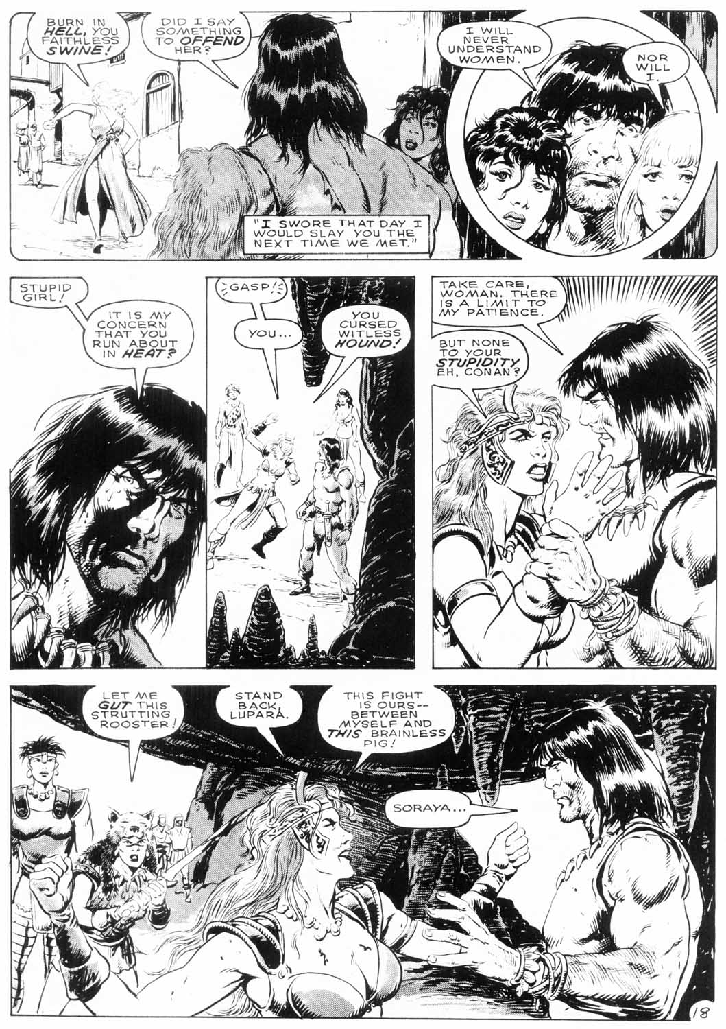 The Savage Sword Of Conan Issue #154 #155 - English 21
