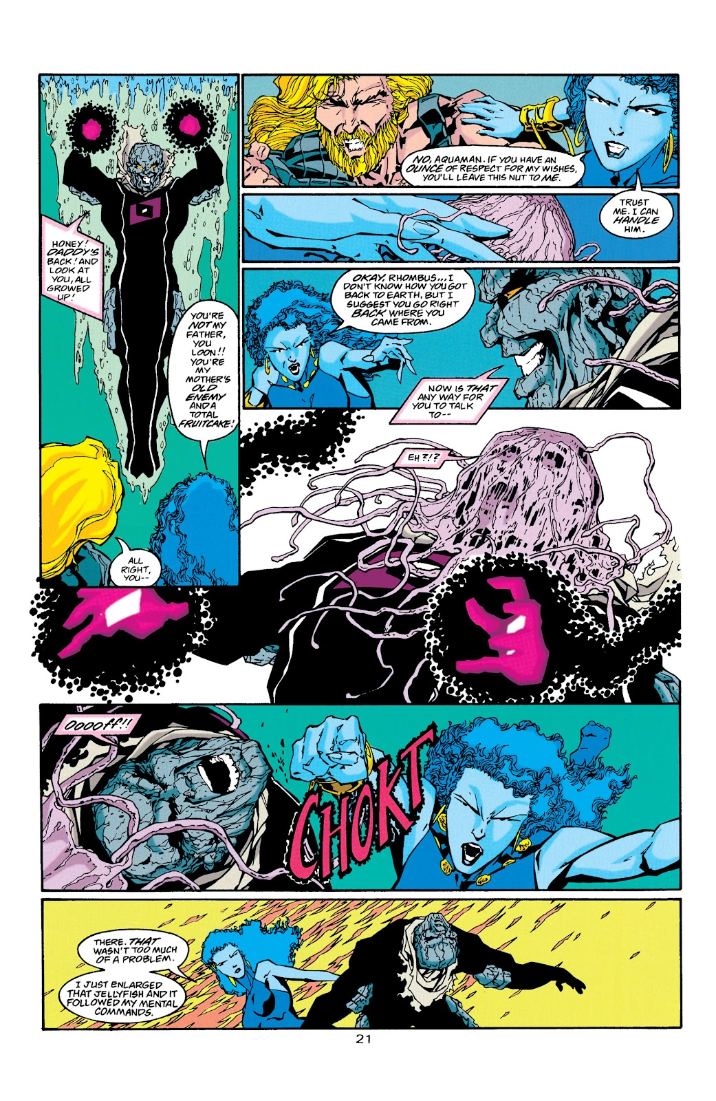 Aquaman (1994) Issue #38 #44 - English 21
