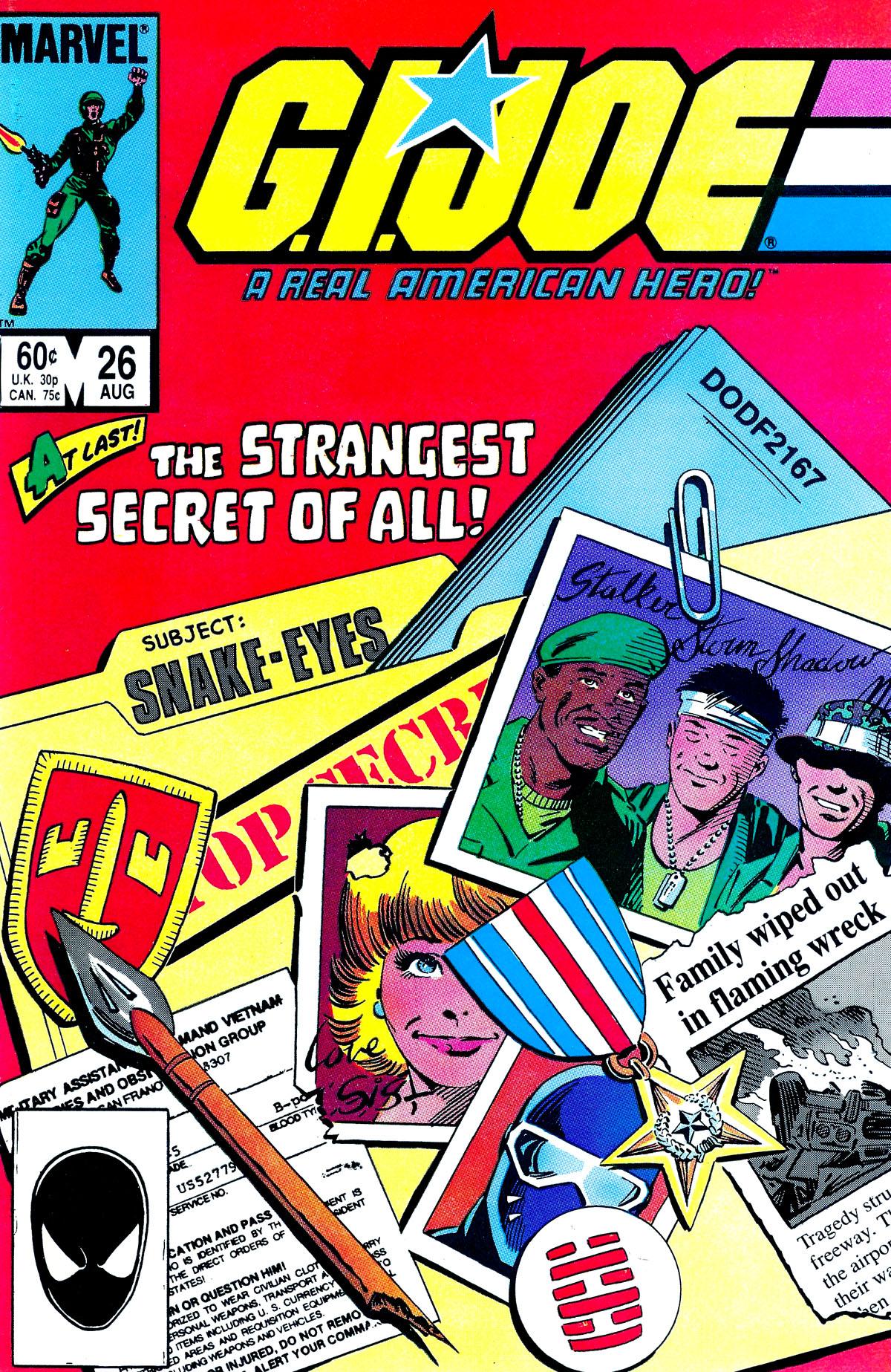 G.I. Joe: A Real American Hero 26 Page 1