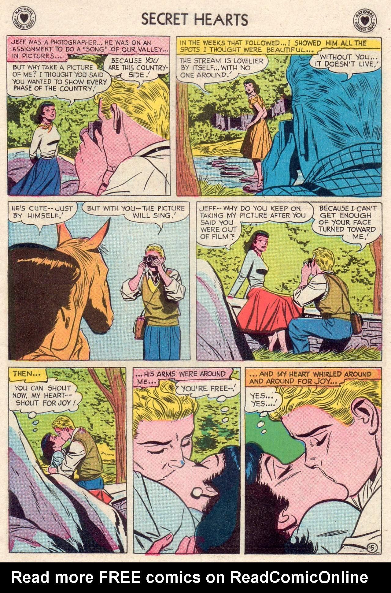 Read online Secret Hearts comic -  Issue #46 - 31