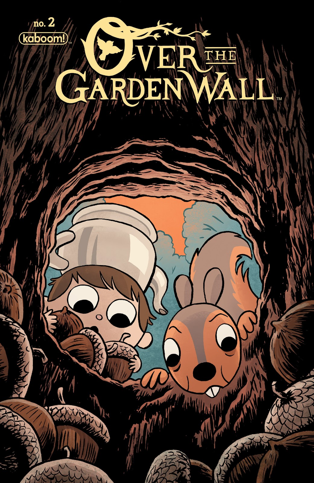 Over the Garden Wall (2016) Issue #2 #2 - English 1