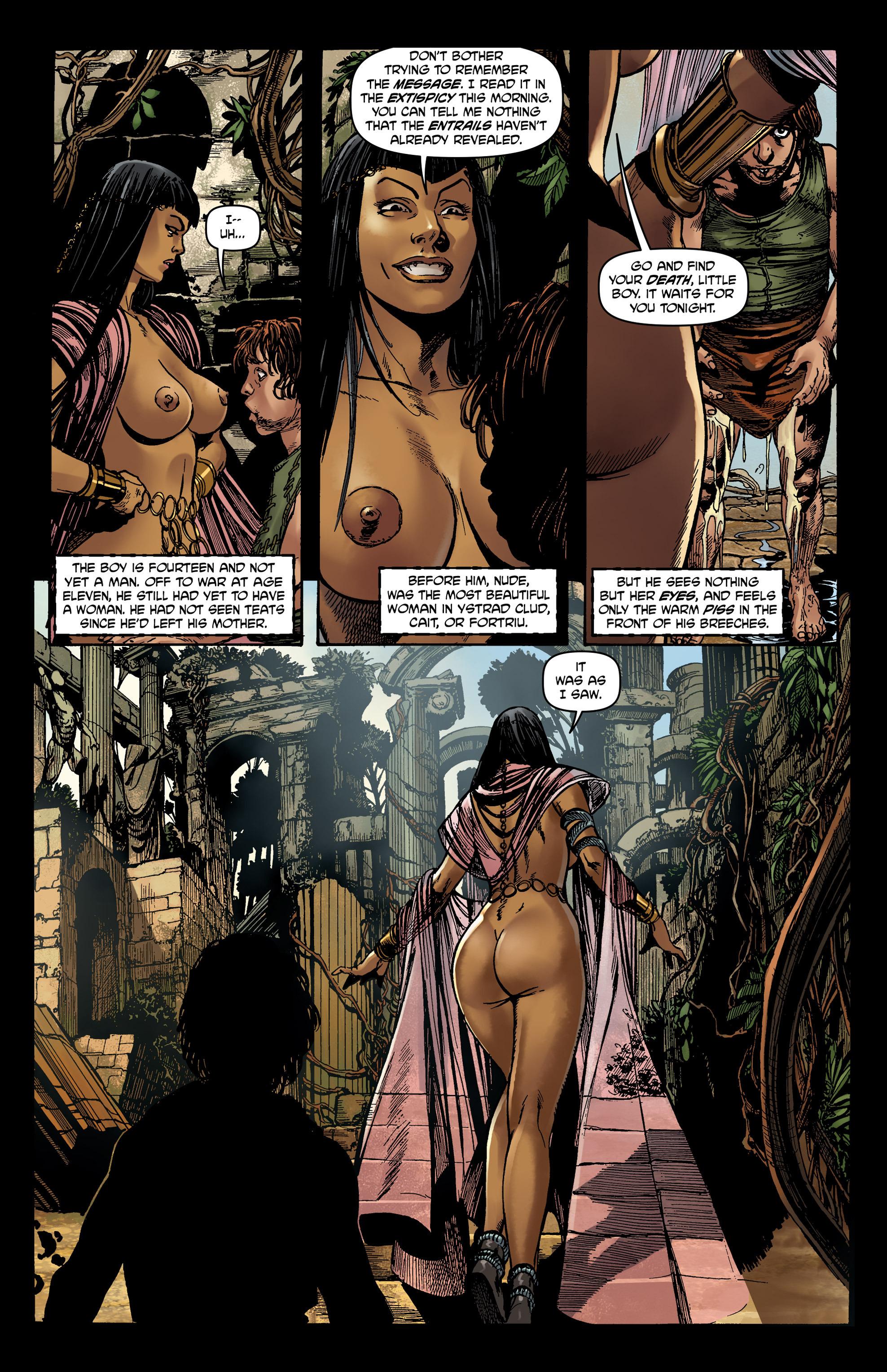 Read online Belladonna comic -  Issue #0 - 11