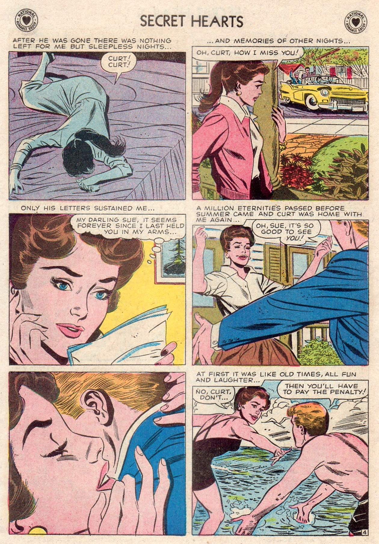 Read online Secret Hearts comic -  Issue #46 - 6
