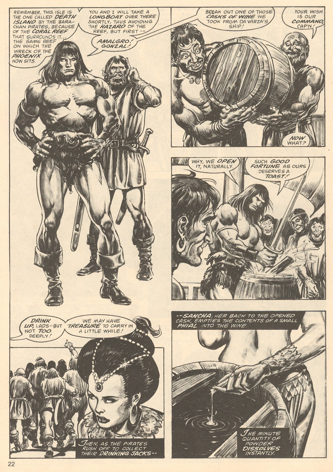 The Savage Sword Of Conan Issue #67 #68 - English 22