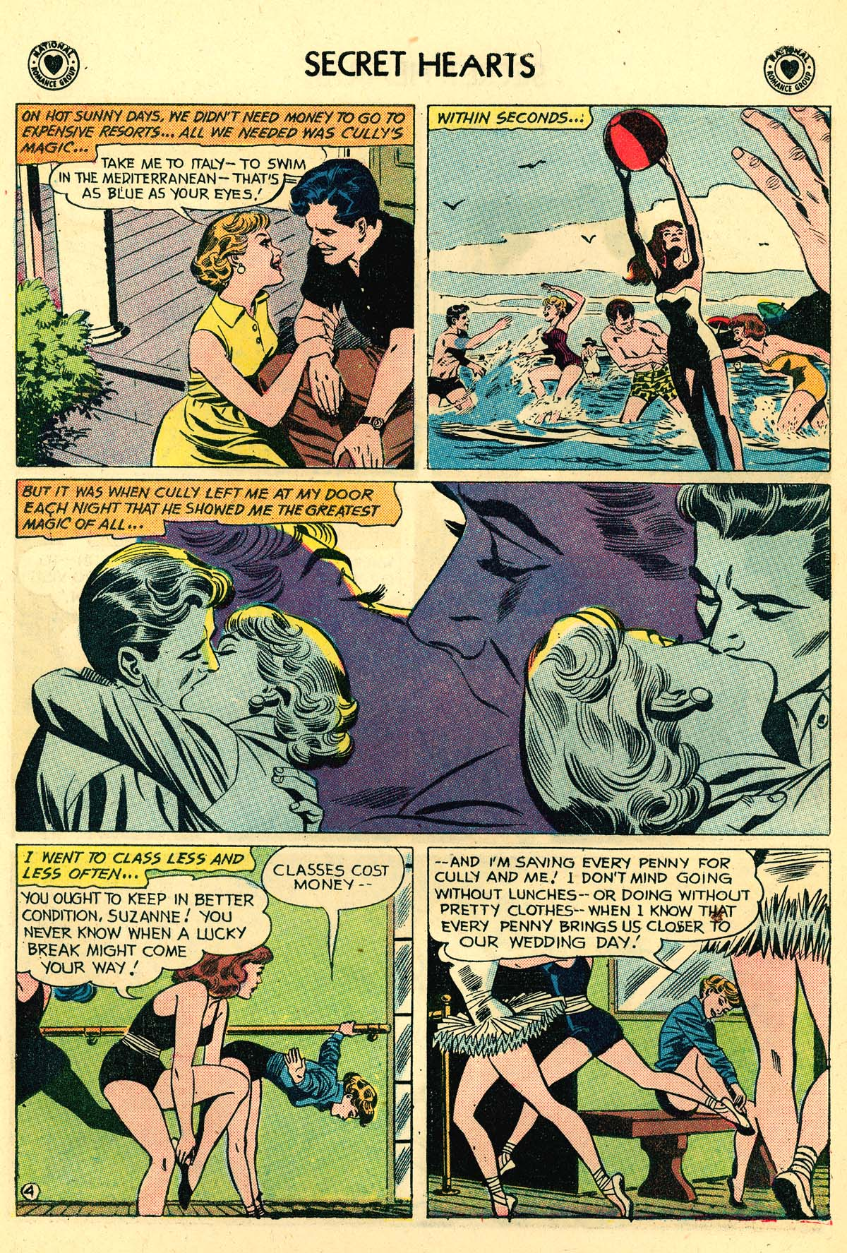 Read online Secret Hearts comic -  Issue #59 - 30