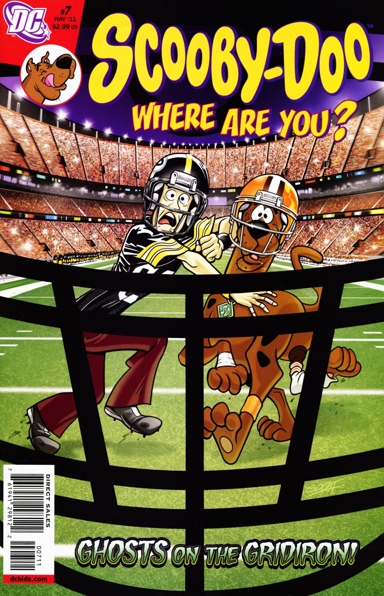 Read online Scooby-Doo: Where Are You? comic -  Issue #7 - 1