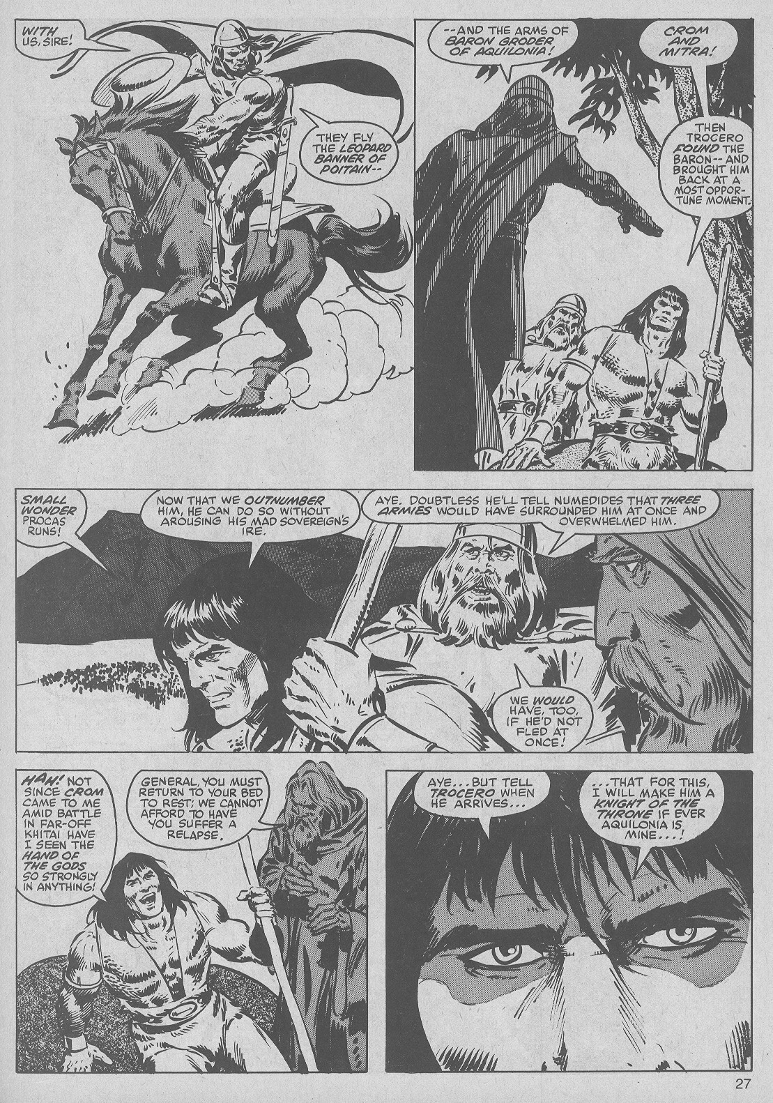 The Savage Sword Of Conan Issue #50 #51 - English 27