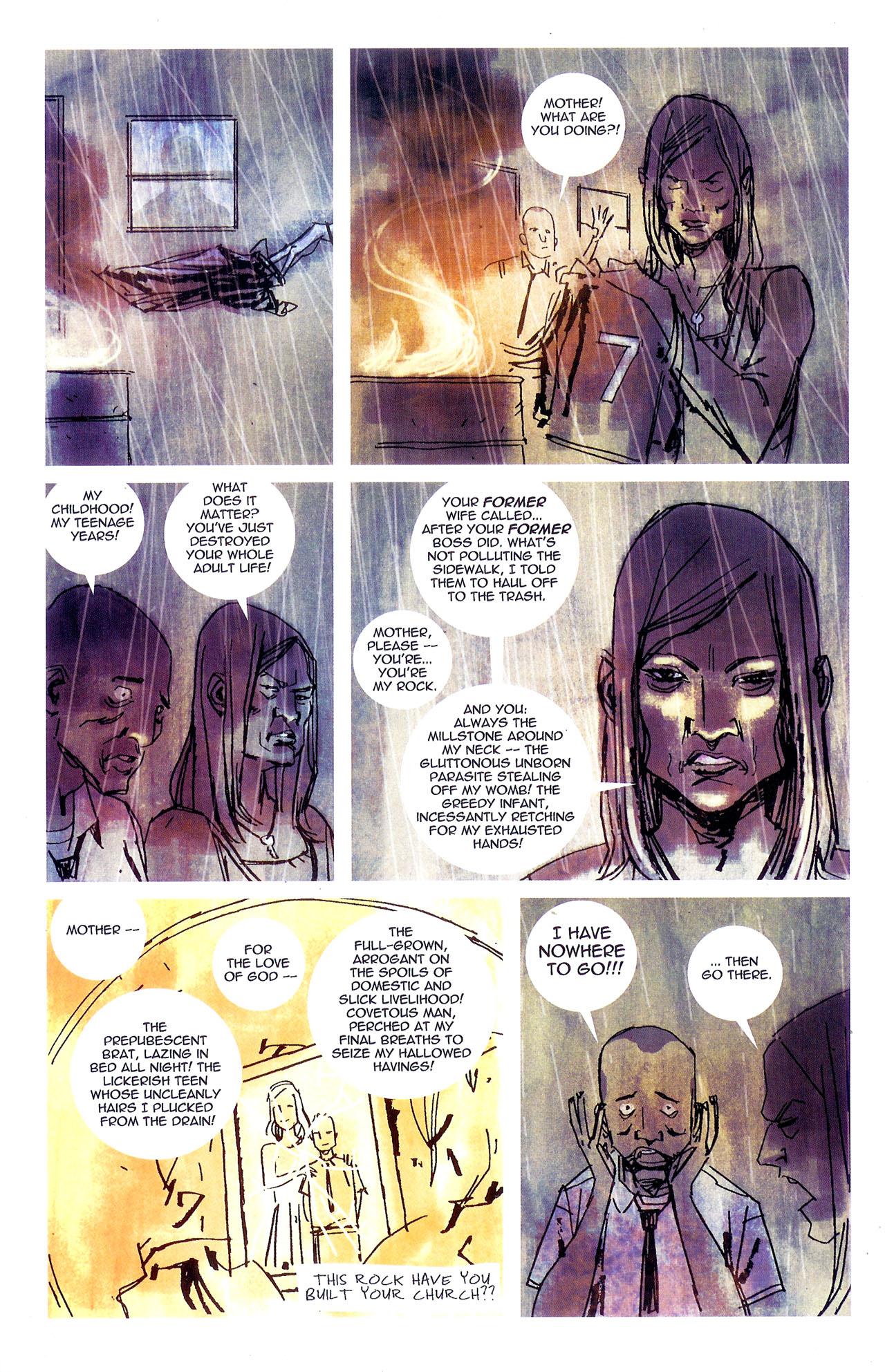 Read online Se7en comic -  Issue #7 - 21