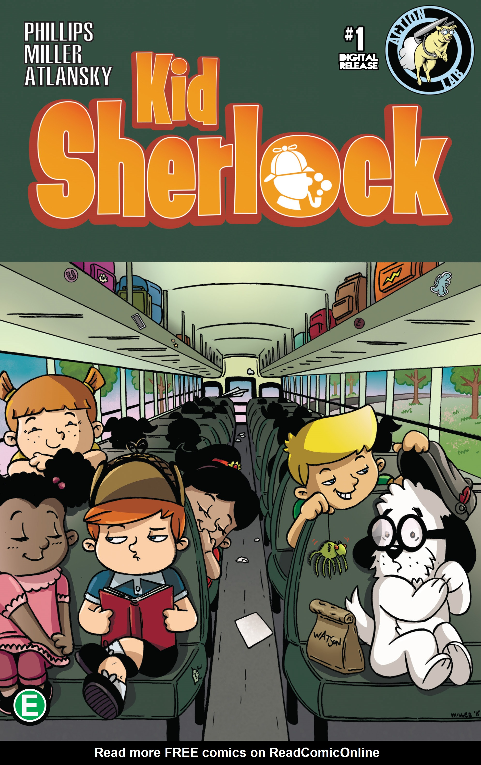 Kid Sherlock  1 Page 1