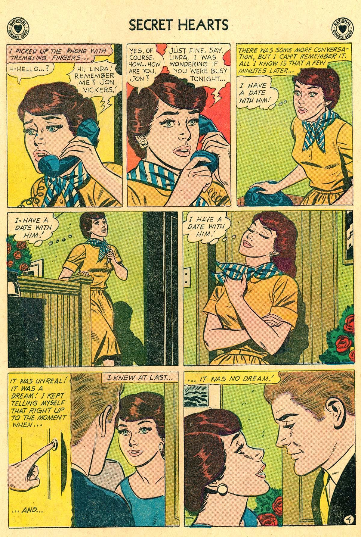 Read online Secret Hearts comic -  Issue #69 - 14