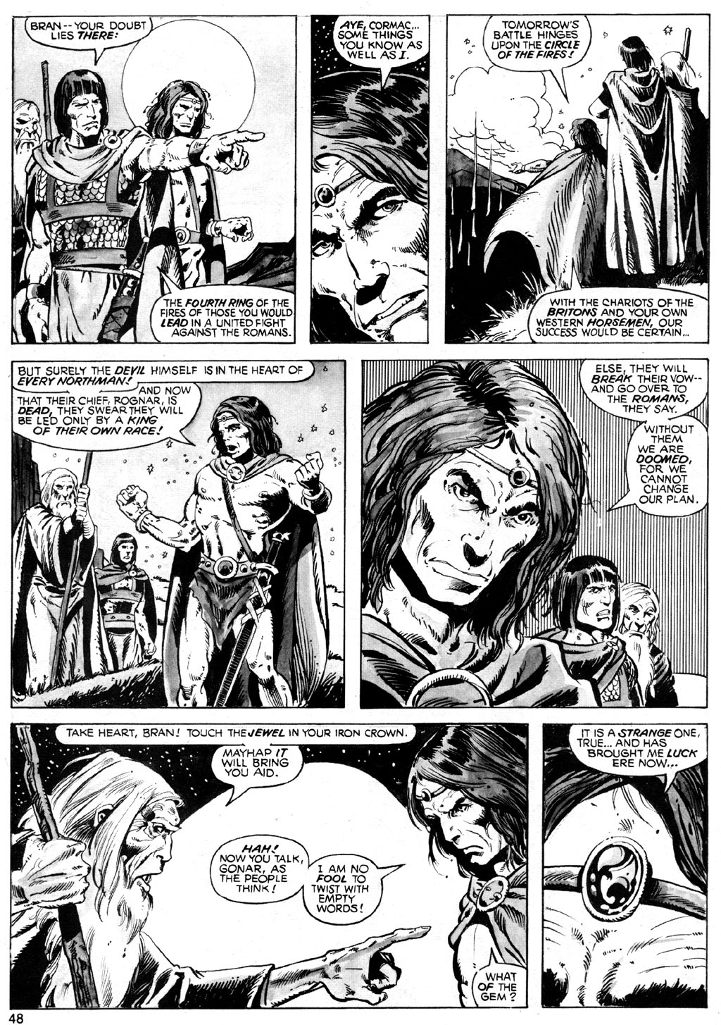 The Savage Sword Of Conan Issue #42 #43 - English 48