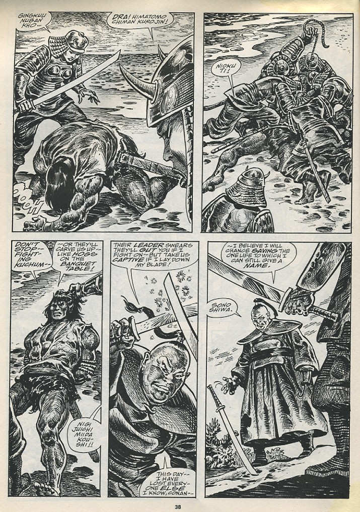 The Savage Sword Of Conan Issue #194 #195 - English 40