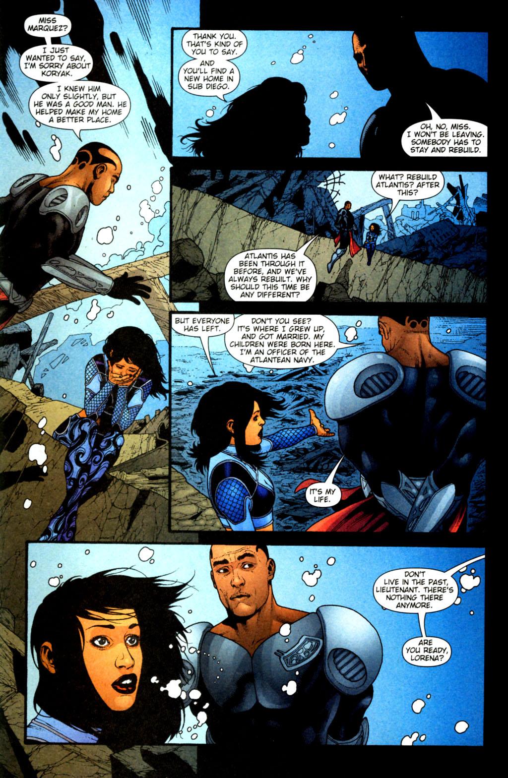 Read online Aquaman (2003) comic -  Issue #38 - 22