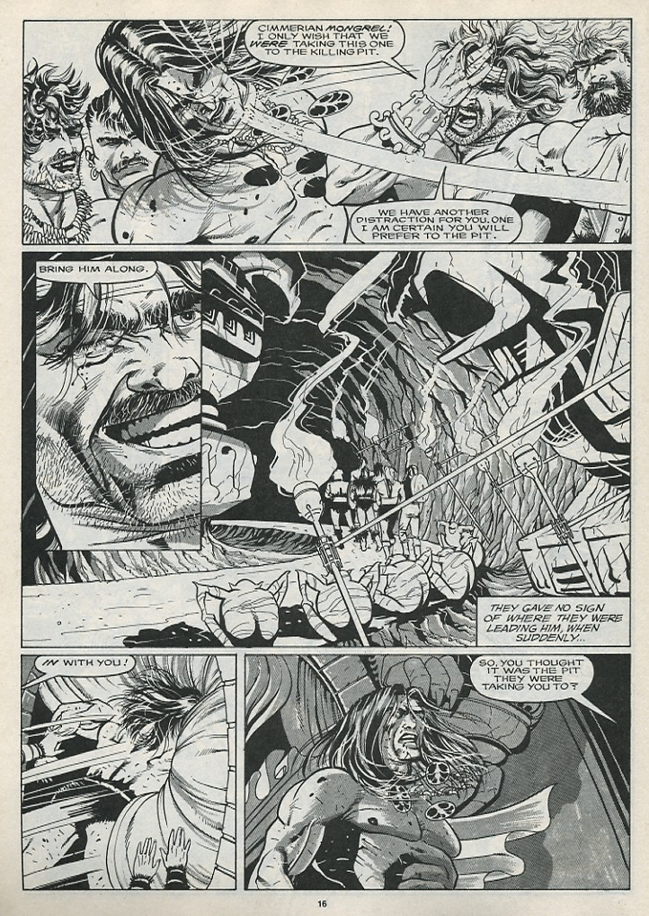 The Savage Sword Of Conan Issue #176 #177 - English 18