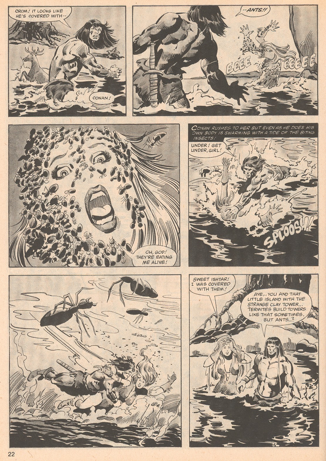 The Savage Sword Of Conan Issue #70 #71 - English 22