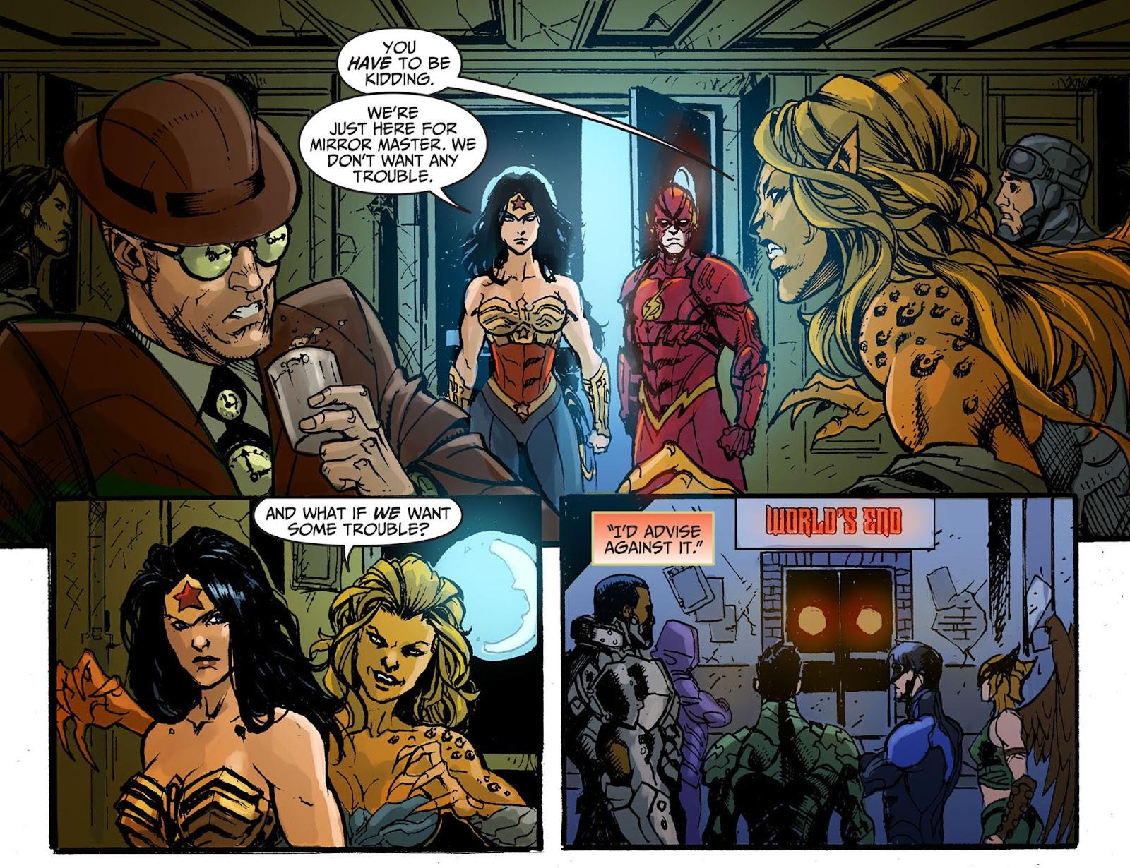 Injustice: Gods Among Us [I] Issue #8 #9 - English 11