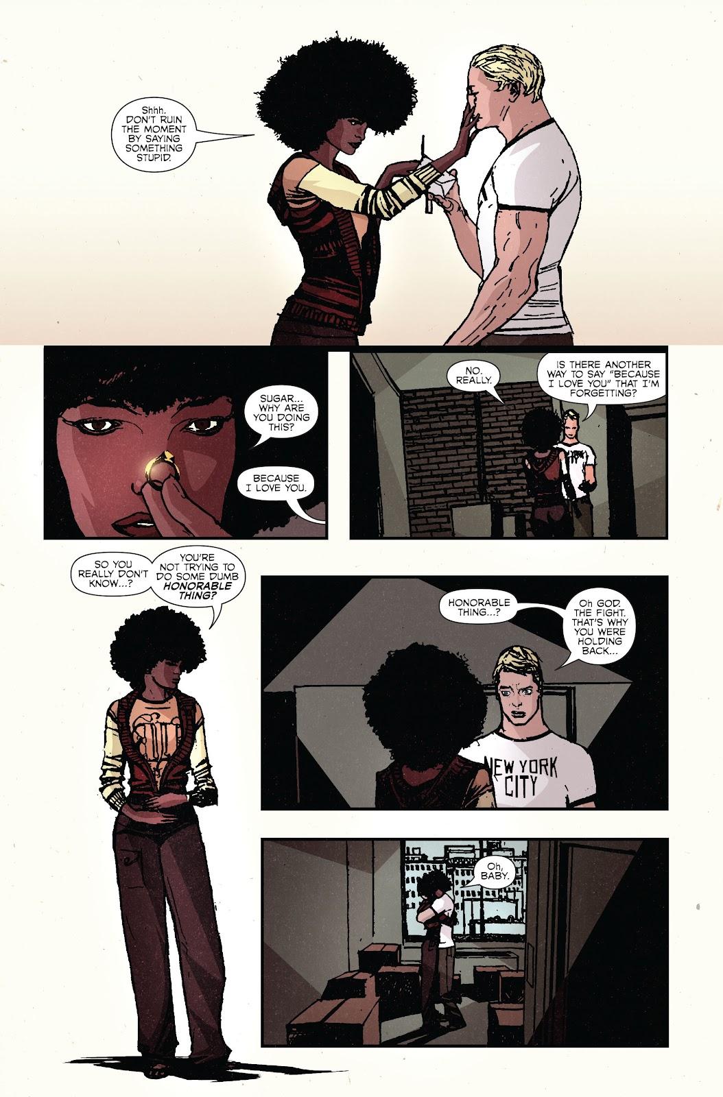 The Immortal Iron Fist Issue #27 #28 - English 23